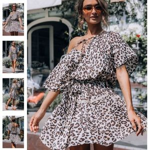 Spell & The Gypsy Bodhi Leopard Mini Dress 🐾